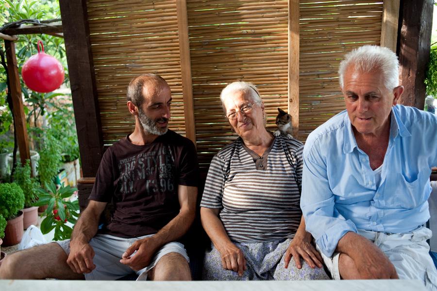 Toros, Siranus and Papken Silahli