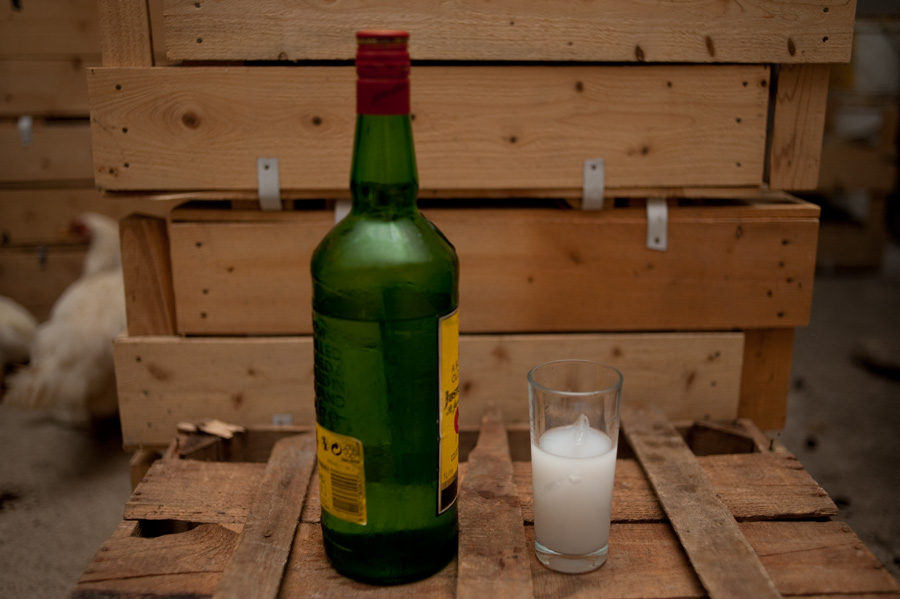 Home-distilled Raki